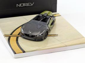Peugeot EX1 Concept Car Baujahr 2010 dunkelgrau metallic / oliv grün 1:43 Norev