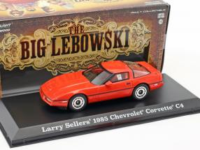 Larry Sellers' Chevrolet Corvette C4 Baujahr 1985 Film The Big Lebowski (1998) rot 1:43 Greenlight