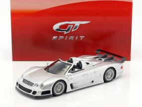 Mercedes-Benz CLK GTR Roadster year 1998 silver 1:18 GT-SPIRIT