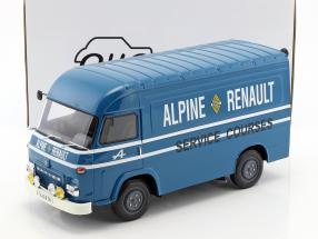 Saviem SB2 Van Assitance Courses Alpine 24h LeMans blau 1:18 OttOmobile