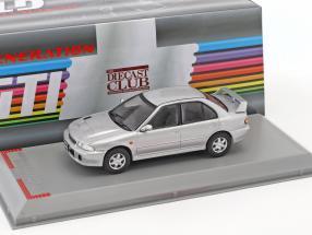 Mitsubishi Lancer Evo 1 Baujahr 1992 silber metallic 1:43 GTI Collection
