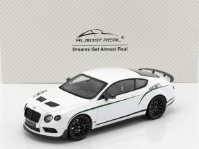 Bentley Continental GT3-R Baujahr 2015 weiß 1:18 Almost Real
