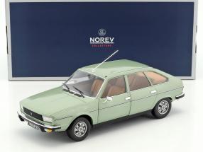 Renault 20 TS Baujahr 1978 algengrün metallic 1:18 Norev