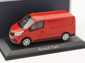 Renault Trafic Kastenwagen Baujahr 2014 rot 1:43 Norev