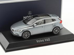 Volvo V40 Baujahr 2016 osmium grau metallic 1:43 Norev