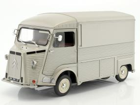 Citroen Type HY year 1969 silver gray 1:18 Solido