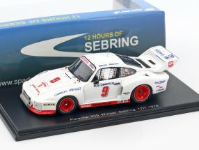 Porsche 935 #9 Winner 12h Sebring 1978 Redman, Mendez, Garretson 1:43 Spark
