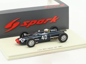 Mike Hailwood Lola Mk4 #40 Italien GP Formel 1 1963 1:43 Spark