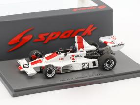 Graham Hill Hill GH1 #23 Monaco GP Formel 1 1975 1:43 Spark
