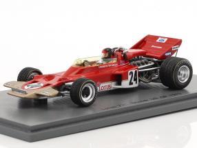 Emerson Fittipaldi Lotus 72C #24 Winner USA GP formula 1 1970 1:43 Spark