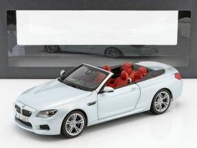 BMW M6 Convertible Silverstone II silber 1:18 Paragon Models