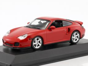 Porsche 911 (996) Turbo year 1999 red 1:43 Minichamps