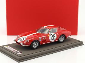 Ferrari 275 GTB #28 24h LeMans 1967 Spoerry, Steinemann mit Vitrine 1:18 BBR