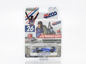 Takuma Sato Honda #26 Winner Indy 500 2017 Andretti Autosport 1:64 Greenlight
