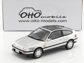 Honda CR-X Mk II Baujahr 1988 silber metallic 1:18 OttOmobile