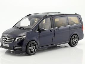 Mercedes-Benz V-Klasse year 2017 cavansit blue metallic 1:18 Norev