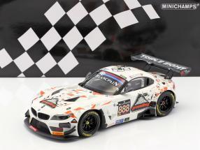 BMW Z4 GT3 #888 24h Spa 2015 Mowle, Ratcliffe, Osborne, Müller 1:18 Minichamps