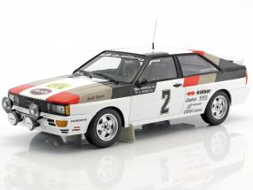 Audi Quattro #2 Winner International Rally Sweden 1981 Mikkola, Hertz 1:18 Minichamps