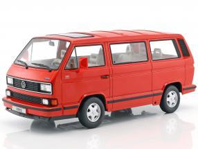 Volkswagen VW Bulli T3 Multivan Last Edition 1992 rot 1:18 KK-Scale
