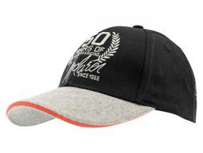Team Member Cap McLaren 50 Years of Grand Prix Racing 2016 schwarz / grau / orange