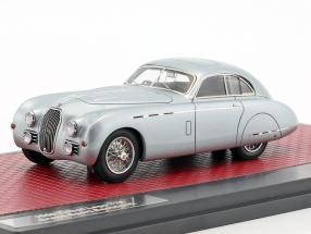 Talbot Lago T26 Grand Sport Saoutchik Baujahr 1950 blaugrau metallic 1:43 Matrix