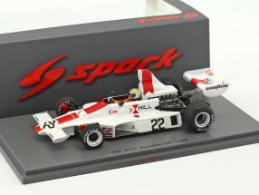 Vern Schuppan Hill GH1 #22 Swedish GP formula 1 1975 1:43 Spark