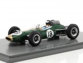 Dan Gurney Brabham BT7 #18 2nd Dutch GP formula 1 1963 1:43 Spark