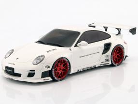 Porsche 911 (997) LB Performance Baujahr 2010 weiß 1:18 GT-SPIRIT