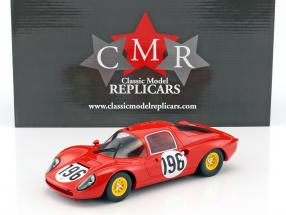 Ferrari Dino 206 S #196 2nd Targa Florio 1966 Guichet, Baghetti 1:18 CMR
