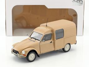 Citroen Acadiane year 1984 beige 1:18 Solido