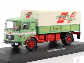 MAN Büssing Wandt Spedition Baujahr 1975 grün / rot 1:43 Ixo