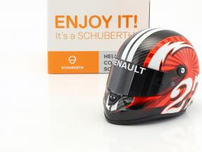 Nico Hülkenberg Renault R.S.17 formula 1 2017 helmet 1:2 Schuberth
