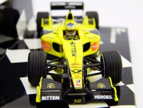J. Trulli Jordan Honda EJ11 Formel 1 2001 1:43 Minichamps