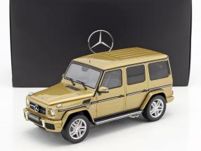 Mercedes-Benz AMG G 63 year 2017 pearl gold 1:18 GT-Spirit