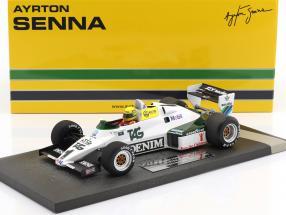 Ayrton Senna Williams Ford FW08C #1 July test Donington Park formula 1 1983 1:18 Minichamps