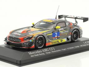 Mercedes-Benz AMG GT3 #2 24h Dubai 2016 Team Black Falcon 1:43 Minichamps