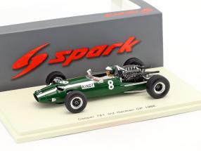 Jochen Rindt Cooper T81 #8 3rd German GP Formel 1 1966 1:43 Spark