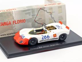 Porsche 908/02 Spyder #266 Winner Targa Florio 1969 Mitter, Schütz 1:43 Spark