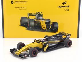 Jolyon Palmer Renault R.S.17 #30 Bahrain GP Formel 1 2017 1:18 Spark