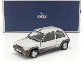 Renault SuperCinq GT Turbo Baujahr 1985 silber metallic 1:18 Norev