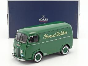 Peugeot 1500kg Type CHV Chenard & Walcker year 1946 green 1:18 Norev