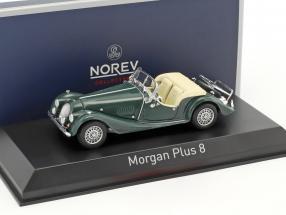 Morgan Plus 8 Baujahr 1980 british racing grün 1:43 Norev