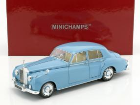 Rolls Royce Silver Cloud II year 1960 light blue 1:18 Minichamps