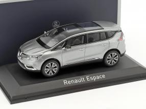 Renault Espace Initiale Paris Baujahr 2015 cassiopee grau 1:43 Norev