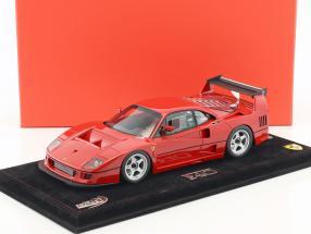Ferrari F40 LM Presse Version 1990 rot 1:18 BBR