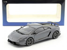 Lamborghini Gallardo LP570-4 Superleggera Year 2011 gray 1:18 AUTOart