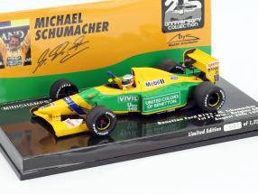 M. Schumacher Benetton B192 #19 first Win Belgium GP formula 1 1992 1:43 Minichamps
