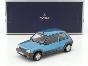 Renault SuperCinq GT Turbo Baujahr 1986 blaumetallic 1:18 Norev