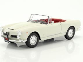 Alfa Romeo 2600 Spider Touring Baujahr 1961 weiß 1:18 Cult Scale