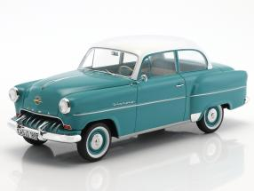 Opel Olympia Rekord year 1953 turquoise / white 1:18 BoS-Models